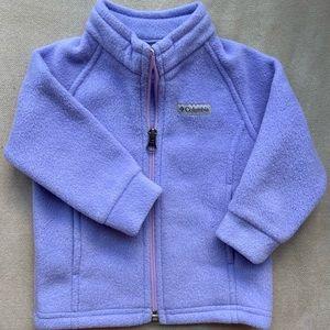 Columbia Light Purple Baby Fleece